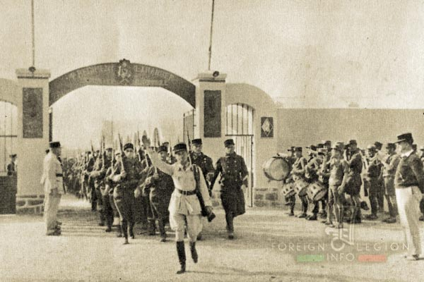 Automobile Mounted Company - 4th REI - Mounted Company - 3rd REI - Foreign Legion - Foum El Hassan - 1939