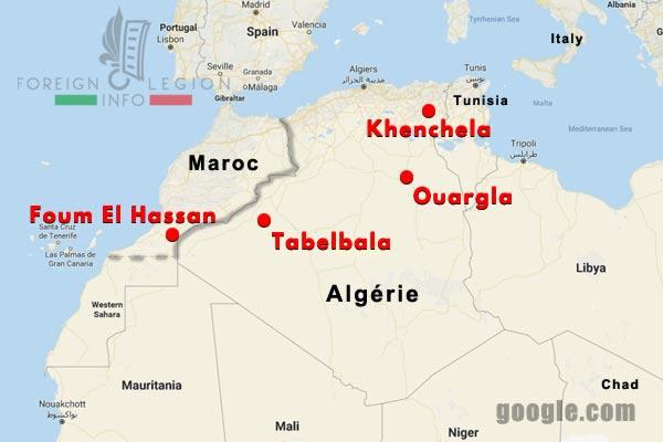 Compagnies Montées motorisées - Algerie - Maroc - 1934-39 - Postes