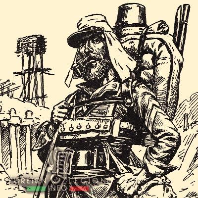 Légionnaire - Légion étrangère - 1881