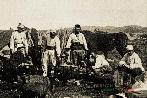 Légionnaires - Compagnie montée - Légion étrangère - Algérie - Sud Oranais - 1910