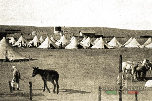 Mounted Company - Camp - Foreign Legion - Algeria - South Oran - 1910