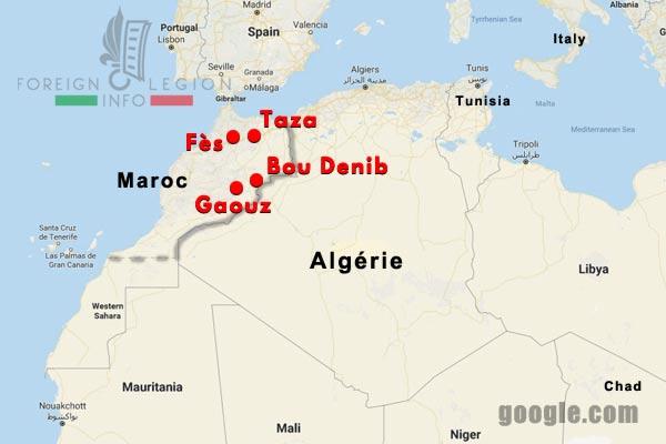 Compagnies montées - Légion étrangère - Maroc - Première Guerre mondiale