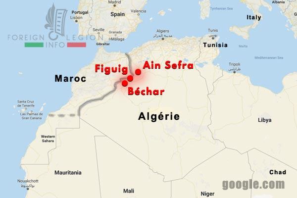 Compagnies montées - Algérie - Sud Oranais - Legion Etrangere