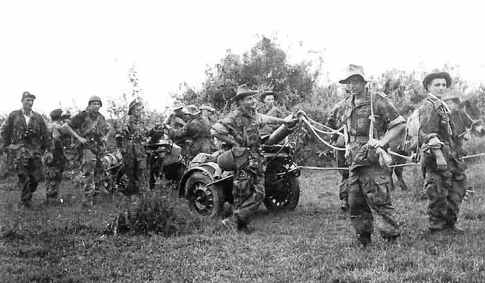 1re CEPML is participating in the Battle of Dien Bien Phu