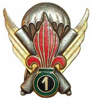 1re CEPML insignia