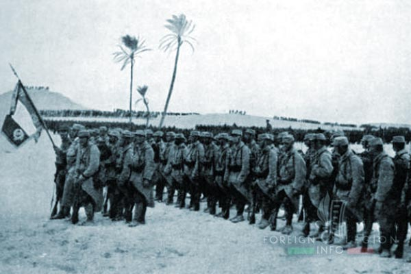 Bataillon de Légion - Orient - Legion Etrangere - Alexandrie - Egypte - Drapeau - 1915