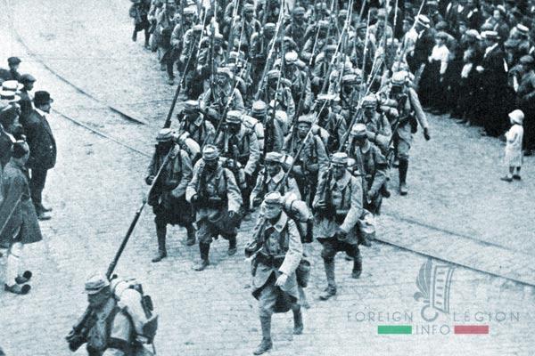 Soldats français - Salonique - 1915