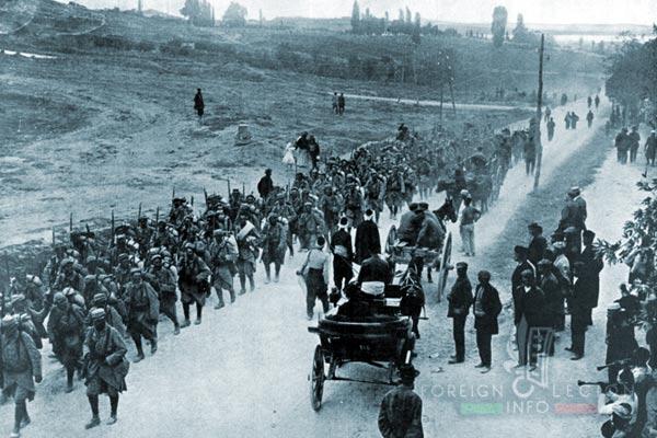 Soldats français - Salonique - Zeitenlik - 1915