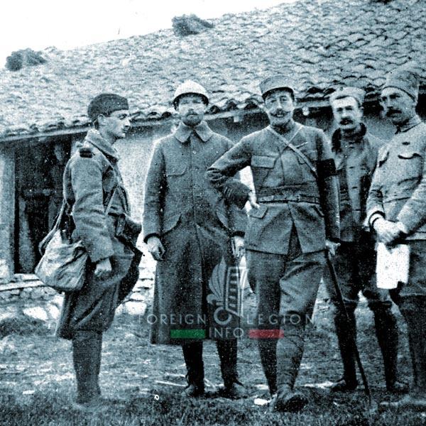 Foreign Legion - Battalion - Balkans - Colonel Schneider - Legionnaire - 1916