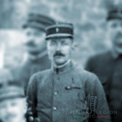 Compagnie de Légion - Orient - Legion Etrangere - Lieutenant Zanchetta - 1916