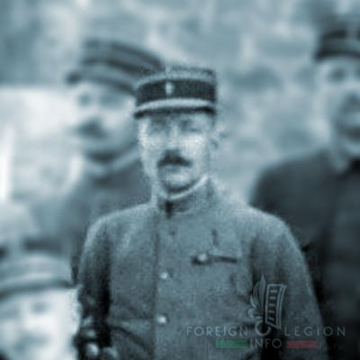 Foreign Legion - Company - Balkans - Lieutenant Zanchetta - 1915