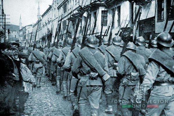 Bataillon de Légion - Orient - Legion Etrangere - Troupes russes - Monastir - 1916