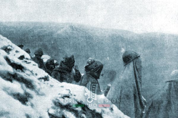 Foreign Legion - Battalion - Balkans - 1917 - Monastir - Trench