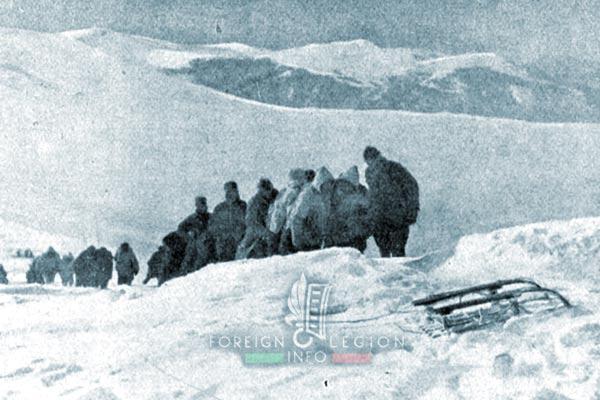 Bataillon de Légion - Orient - Legion Etrangere - 1917 - Monastir - Mont Baba - Artillerie piece