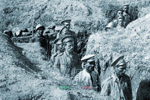 Foreign Legion - Company - Balkans - 1918 - Skra di Legen - Bulgarians