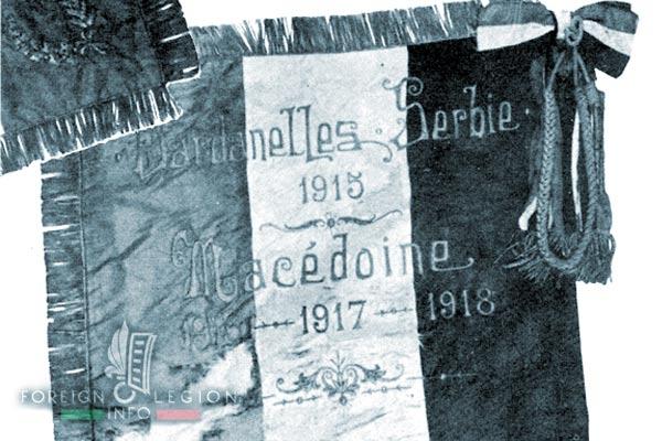 Foreign Legion - Company - Balkans - 1919 - Fanion - Revers