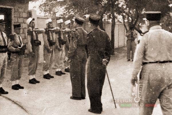 PRLE 3 - Gabes - Colonel Laimay - Tunisie - Légion Etrangère