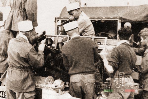 PRLE - Réparation - Dodge 6x6 - Algerie - Légion Etrangère
