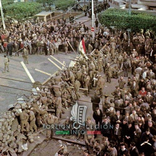 Week of barricades - January 1960