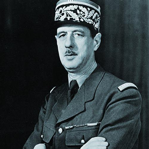 General de Gaulle in 1942