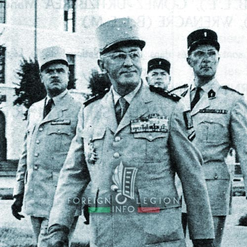 1961 Generals' Putsch of Algiers - General Gambiez - Colonel Brothier