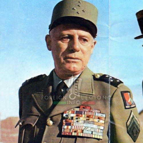 1961 Generals' Putsch of Algiers - General Raoul Salan