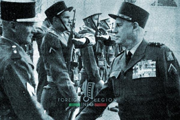Algeria - 1957 - General Salan - 1er REC - 1 REC - Foreign Legion
