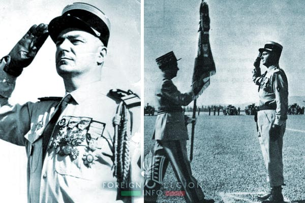1961 Generals' Putsch of Algiers - 1er REC - Charles de La Chapelle