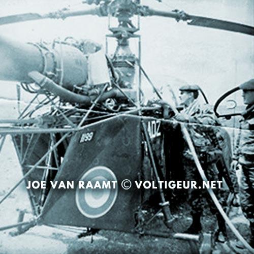 1961 Generals' Putsch of Algiers - Helicopter - Joe Van Raamt