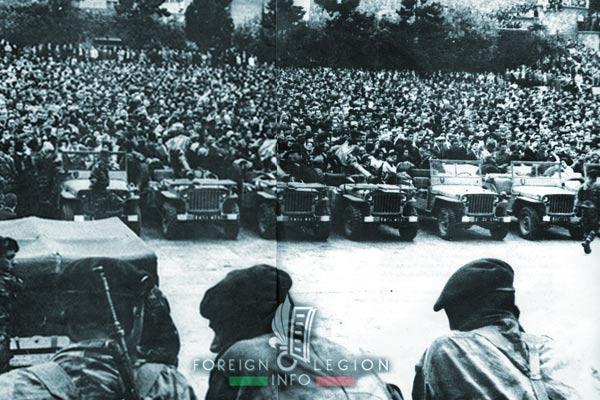 1961 Generals' Putsch of Algiers - Algiers - Forum - 1er REP - 1 REP