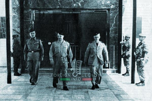 1961 Generals' Putsch of Algiers - Jouhaud - Challe - Zeller