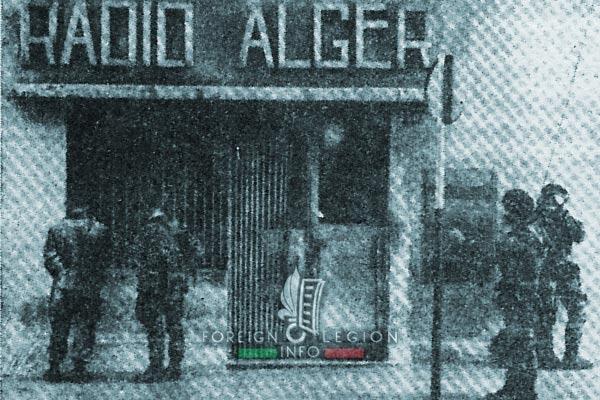 1961 Generals' Putsch of Algiers - 1er REP - 1 REP - Radio Alger