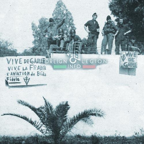 1961 Generals' Putsch of Algiers - Blida - Airport - conscripts