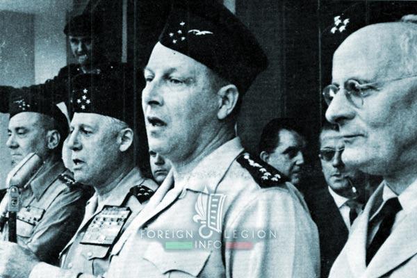 1961 Generals' Putsch of Algiers - Algiers - Forum - Generals