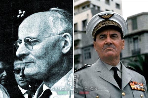 General André Zeller - General Edmond Jouhaud