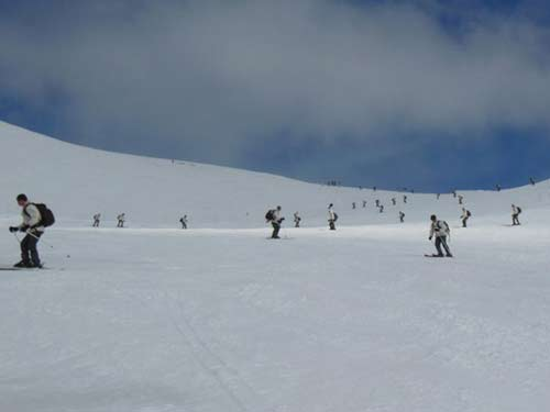 Military Skier Certificate 2e REP in the Alps in  March 2013