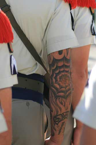 French Foreign Legion tattoo