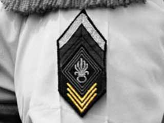 Chevrons of seniority of the Foreign Legion