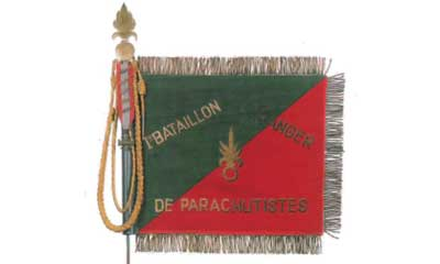 Colors of the Foreign Legion - Fanion - 1er BEP - Indochina