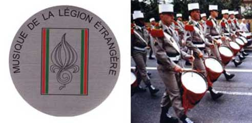 Music band of the Foreign Legion
