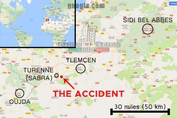 1er REI - 1 RE - Algeria - 1932 Turenne Rail Accident