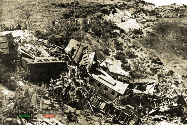 1er REI - 1 RE - Algeria - 1932 Turenne Rail Accident