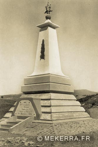 1er REI - 1 RE - Algeria - 1932 Turenne Rail Accident - Monument 1934