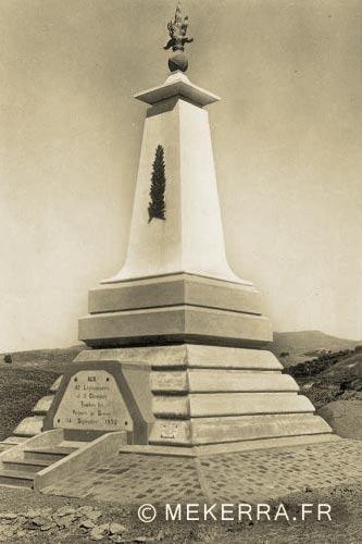 1er REI - 1 RE - Algeria - 1932 Turenne Rail Accident - Monument 1934