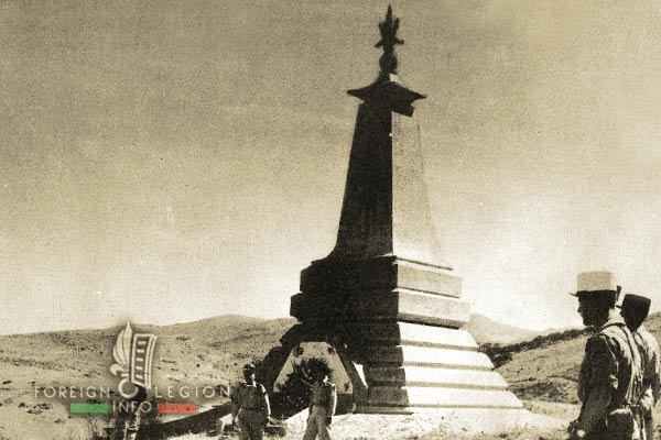 1er REI - 1 RE - Algeria - 1932 Turenne Rail Accident - Monument 1957