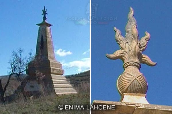 1er REI - 1 RE - Algeria - 1932 Turenne Rail Accident - Monument 2010