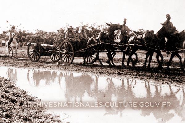 Bataille de Madagascar - Operation Ironclad - 1942 - Troupes françaises