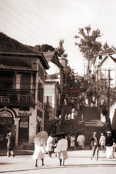 Madagascar - Tananarive - city - 1947