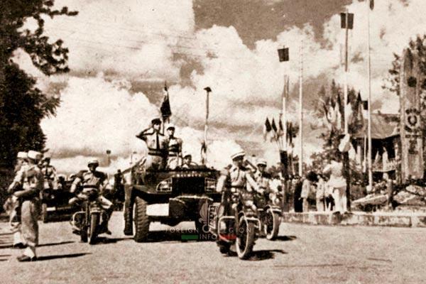 Fianarantsoa - 4th Squadron - 2e REC - 2 REC - Madagascar - Foreign Legion - 1951