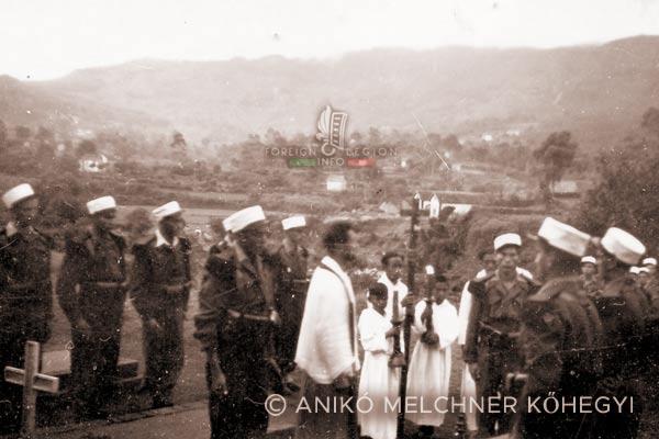 4e DBLE - 4 DBLE - Madagascar - Foreign Legion - burial - 1948